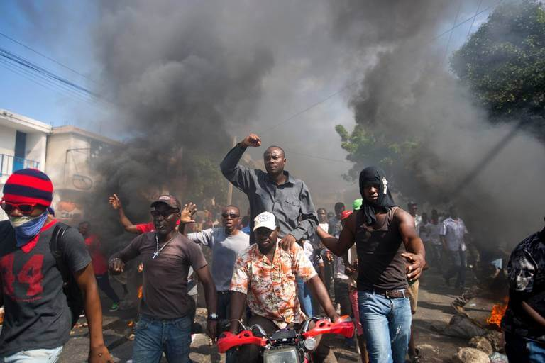 Ex candidato a la presidencia Moise Jean Charles del partdo Platform Pitit Dessalines