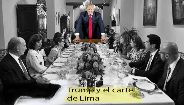 trump y el cartel de lima