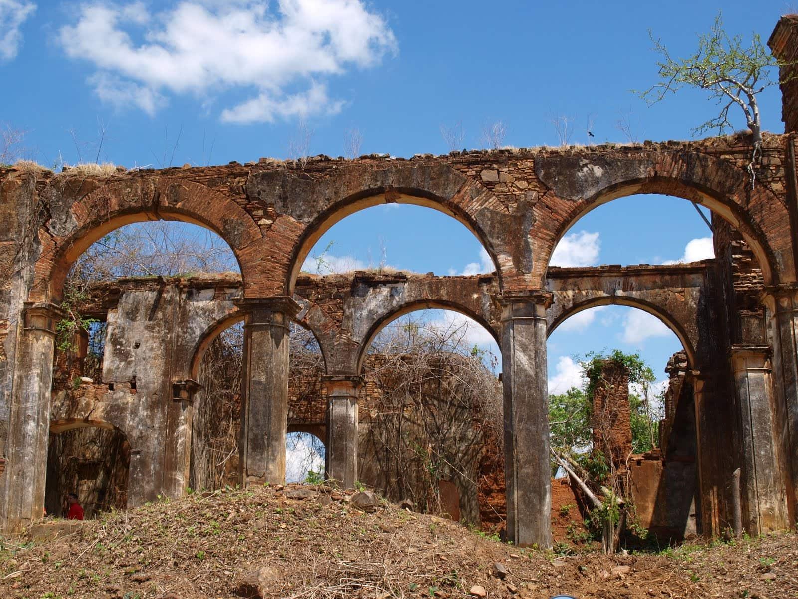 Ruinas de la Iglesia de San Francisco de Tiznados, Guarico, Venezuela