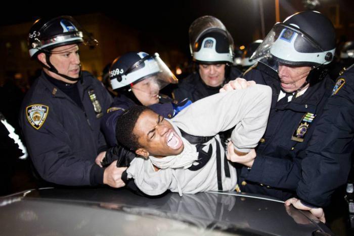 La violencia policial en EE