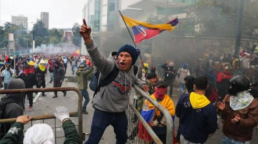 Ecuador en el paquetazo