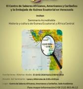 Abiertas las Inscripciones para el Seminario: Historia y cultura de Guinea Ecuatorial y África Central