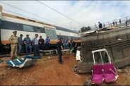 Descarrilamiento de tren en Marruecos deja al menos seis muertos
