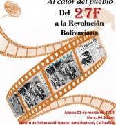 Inauguración del Ciclo de Cine Foros en el Centro de Saberes Africanos, Americanos y Caribeños