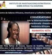 Conversatorio con la cineasta africana RAHMATOU KEÏTA