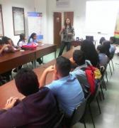 Estudiantes del Liceo Bolivariano 4F visitaron al Centro de Saberes Africanos