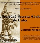 Conferencia sobre la Sociedad Secreta Abakuá de Cuba