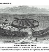 El imperio de Benín y sus murallas