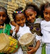 Amor y paz, el deseo de los etíopes en su Año Nuevo