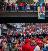 A PESAR DE LA ARREMETIDA IMPERIALISTA NICOLÁS MADURO SE JURAMENTÓ COMO PRESIDENTE DE LA REPÚBLICA