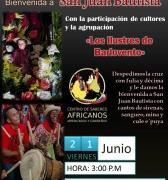 Tumbe de Cruz de mayo y bienvenida San Juan
