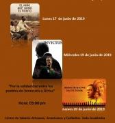 Trilogía de películas en el marco de la XIV semana mundial de África