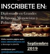 Diplomado en Religiones, Inscríbete