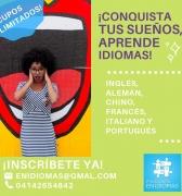 Habla Inglés, Francés, Italiano, Chino Mandarín, Portugués con la Fundación en Idiomas