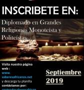 !Nuevo Diplomado en Religiones, Inscríbite¡