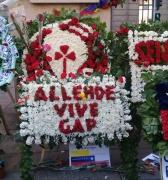 A pesar del silencio oficial Chile recuerda a Salvador Allende