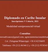 Diplomado en Estudios del Caribe Insular 2021,  Inscripciones para V Cohorte