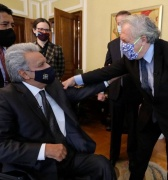 YAKU PÉREZ: El candidato de Lenín Moreno en Ecuador