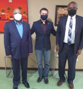 Centro de  Saberes, Embajadas de Sudáfrica y San Vicente Las Granadinas organizan foro sobre relaciones América-África