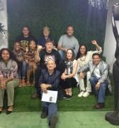 Delegación estadounidense visitó el Centro de Saberes