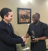 Marcelino Ambrosio felicitó la fuerza creadora que tiene el Centro de Saberes