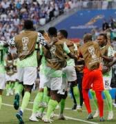 Vibra África con la victoria de Nigeria sobre Islandia 2 a 0