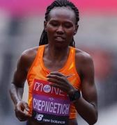 Keniana Chepngetich impone récord mundial en media maratón