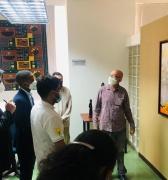 Centro de Saberes Africanos, Americanos y Caribeños recibió visita de delegados sudafricanos