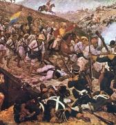 7 de agosto de 1819, Simón Bolívar logra la independencia de Nueva Granada (Colombia)