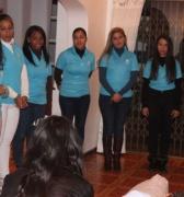 El Coro femenino cubano Ensemble Vocal Luna ofrece primer concierto en Sudáfrica