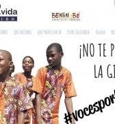 El coro infantil BenigBé 'Voces por Benin' que canta por los derechos de los niños en África comienza su gira por España