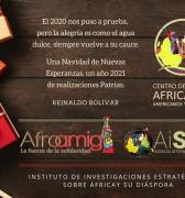 Navidad 2020, Año Nuevo 2021: Un mensaje  de esperanzas del Centro de Saberes y AFROAMIGA