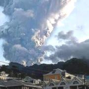 Extrema alerta tras nueva explosión del volcán La Soufriere