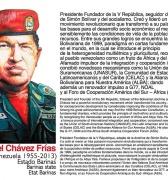 Hugo Chávez, el fundador de una Revolución